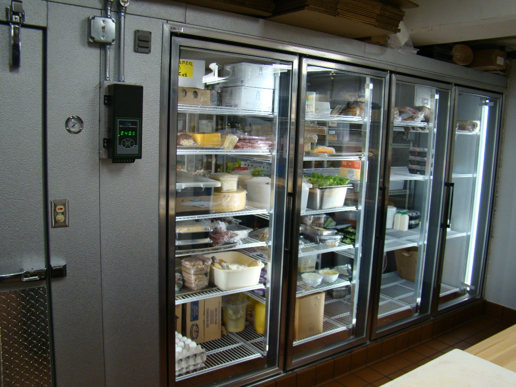 glass door walk in cooler - Walk In Refrigerator