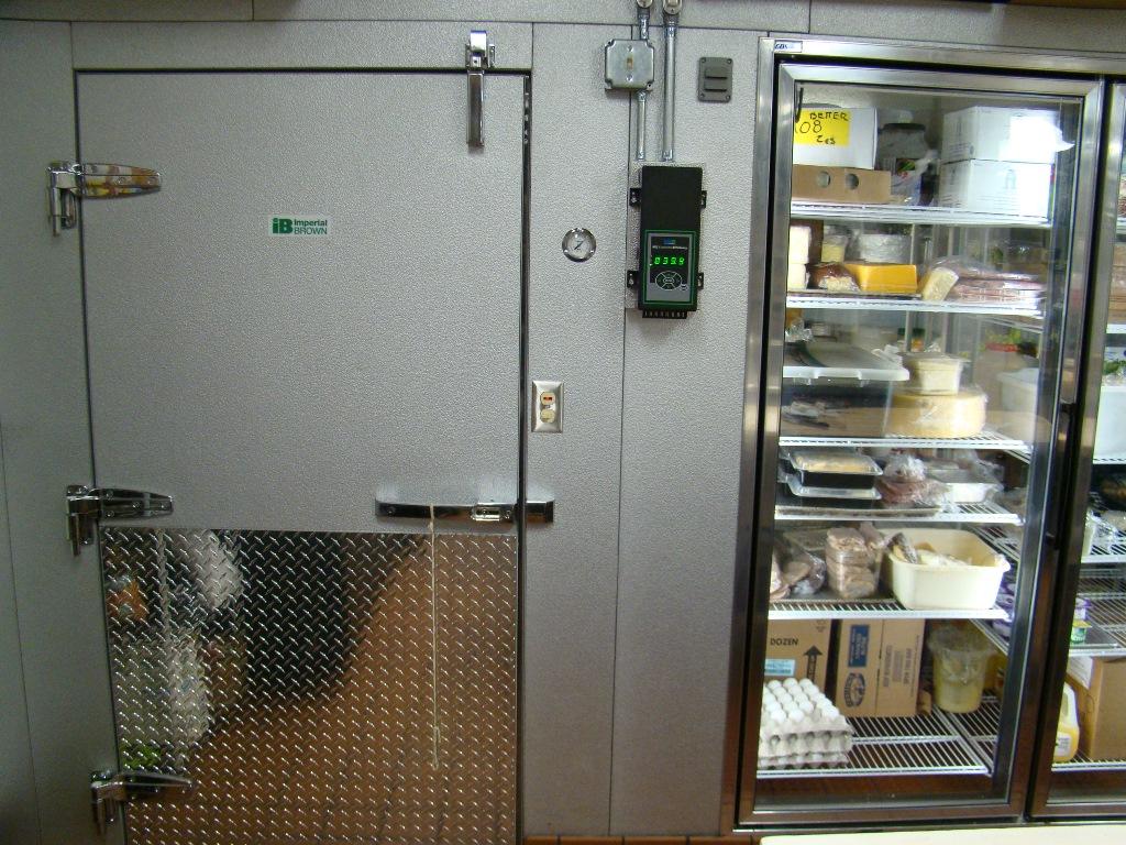 Walk In Cooler Glass Door Mcdonald Refrigeration Inc
