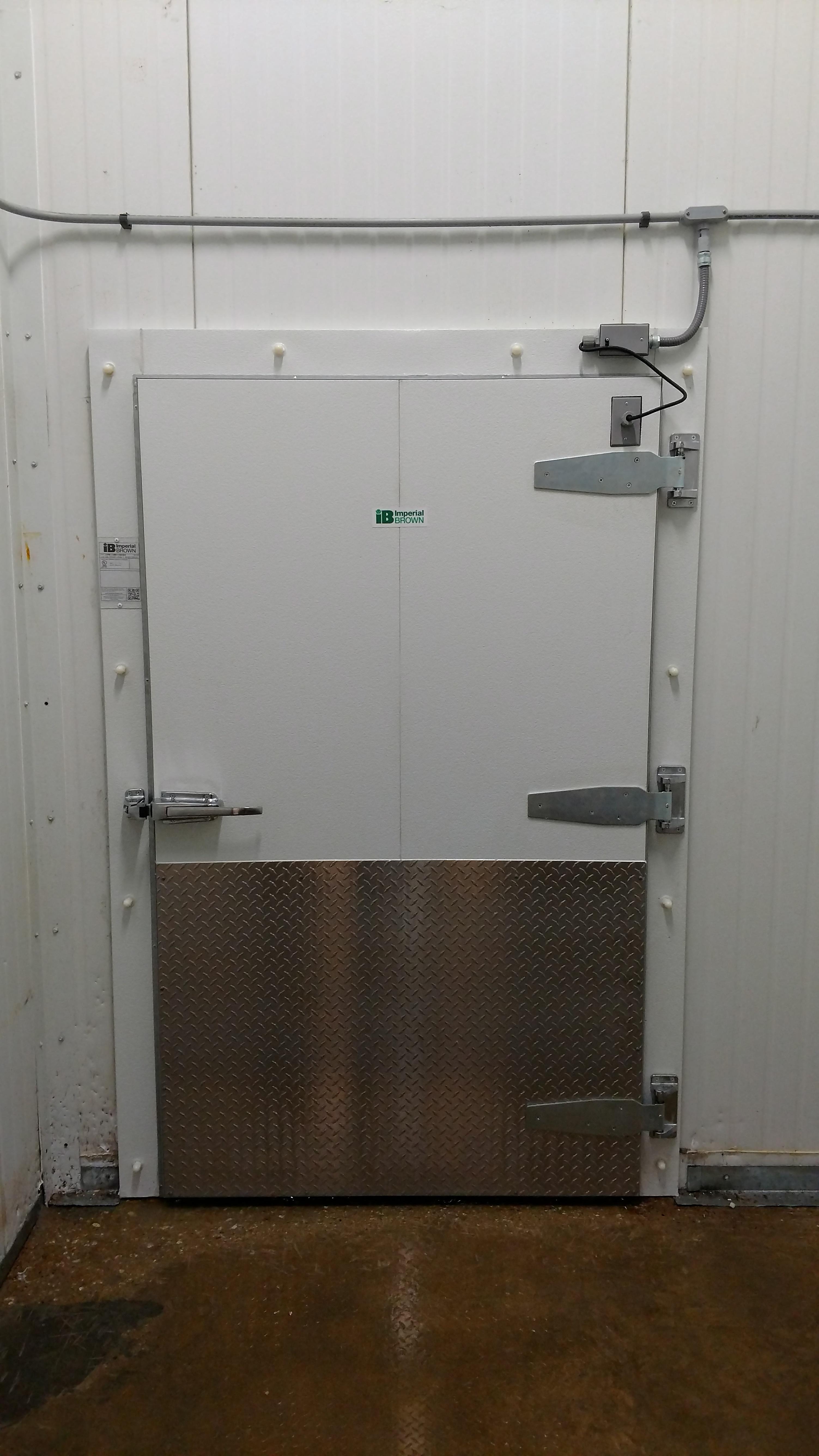Walk-in Freezer Door - McDonald Refrigeration, Inc.