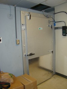 Walk-in Freezer Door