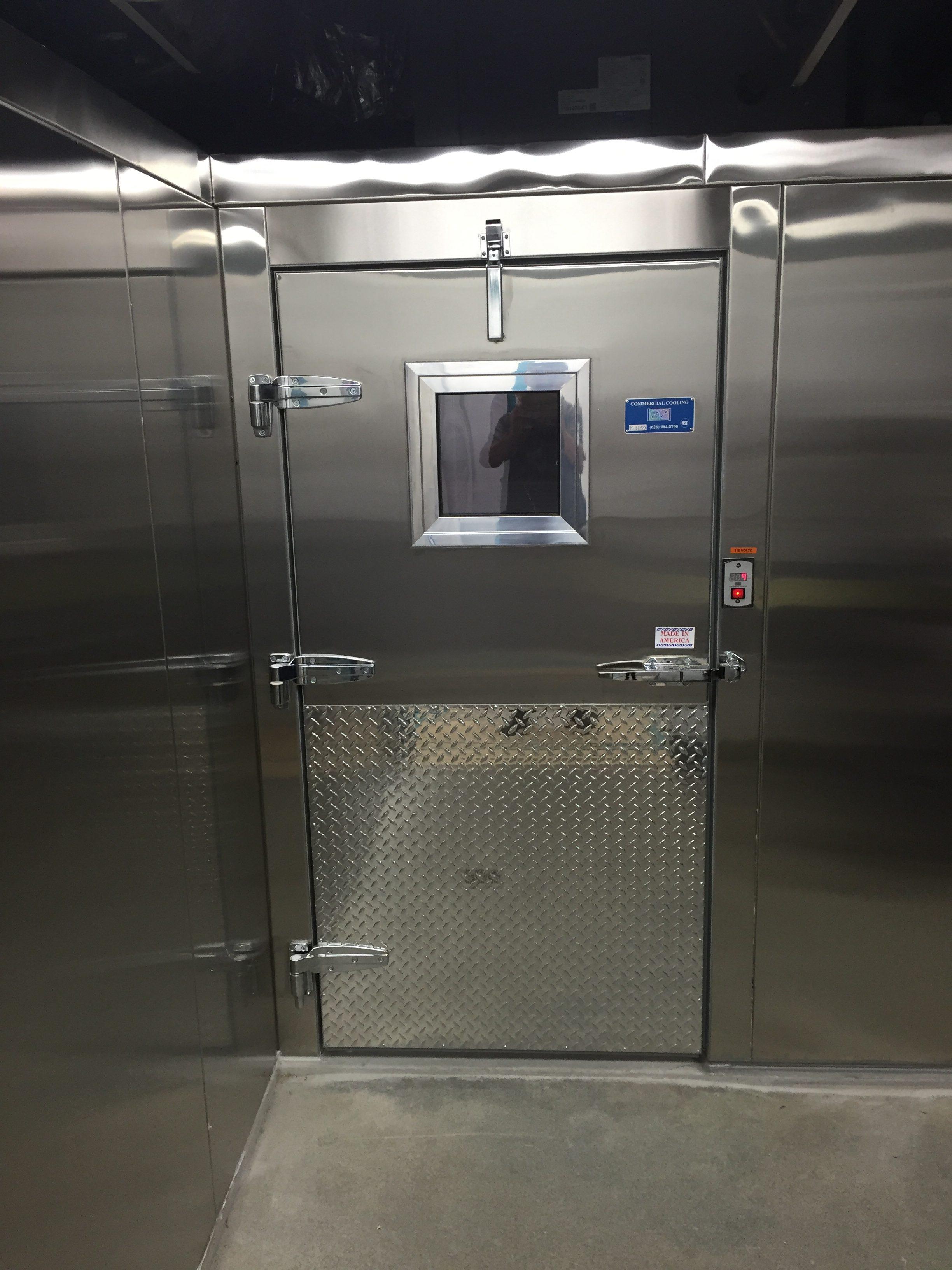 Walk In Cooler Freezer Combo Mcdonald Refrigeration Inc